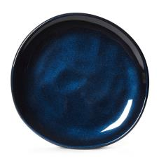 7 in Cosmo™ Blue Irregular Melamine Coupe Plate