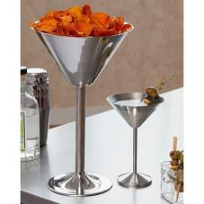 10 oz Stainless Steel Martini Glass