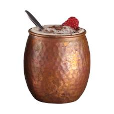 14 oz Antique Hammered Copper Moscow Mule Tumbler