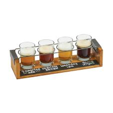 Write-On Industrial Beer Flight Taster Caddy