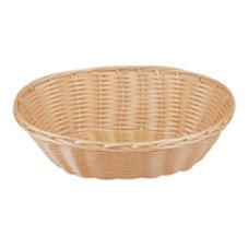 9 in Oval Natural Woven Basket