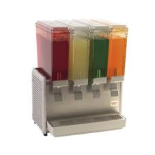 4 Bowl Mini Quad™ Refrigerated Beverage Dispenser withStainless Steel Side Panels