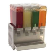 4 Bowl Mini Quad™ Refrigerated Beverage Dispenser with Plastic Side Panels