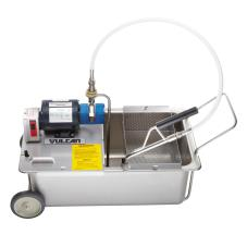 110 lb Mobile Fryer Filtration System