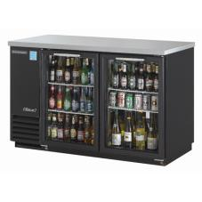 59 in Back Bar Cooler w/2 Glass Doors