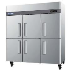 M3 Series (6) 1/2 Door Reach-In Freezer