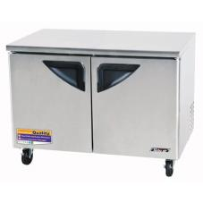 Super Deluxe 2 Door 48 Undercounter Freezer