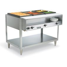 Servewell® 480 Watt 3 Well Hot Food Table