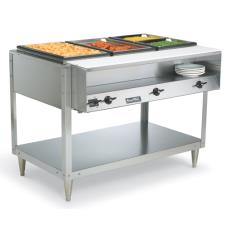 Servewell® 208/240 Volt 3 Well Hot Food Table