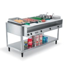 Servewell® 208/240 Volt 4 Well Hot Food Table
