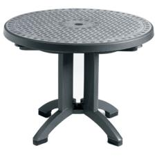 Charcoal 38 in Toledo Round Table