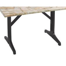Charcoal Lateral Table Base