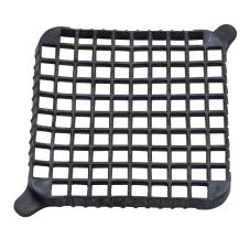 Black 1 in Cleaning Push Block Gasket
