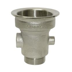 CHG - D10-X001 - 3 in x 1 1/2 in Drain Outlet Body with Removable Cap image
