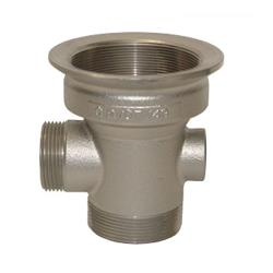 CHG - D10-X007 - 2 in x 3 in Drain Outlet Body with Removable Cap image