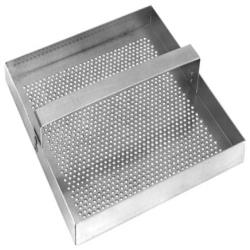 FMP - 102-1108 - Stainless Steel 7 3/4 in Square Drain Strainer image