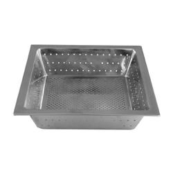 Update  - FDS-875 - S/S 10 in Square Floor Drain Strainer Basket image