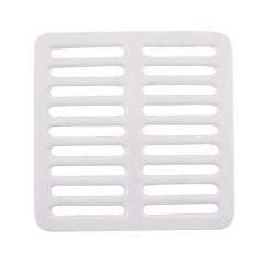 "Commercial - 9 1/4"" Porcelain Full Floor Sink Top Grate image"