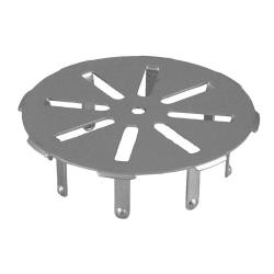 "Commercial - Stainless Steel 4"" Round Floor Drain Strainer image"