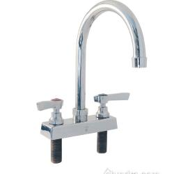 Encore Plumbing - TLL11-4002RE1 - 4 in Deck Mount Faucet w/ Rigid Gooseneck Spout image