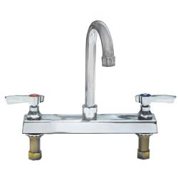 Encore - TLL11-8002SE1 - 8 in Deck Mount Faucet w/ Swivel Gooseneck Spout image