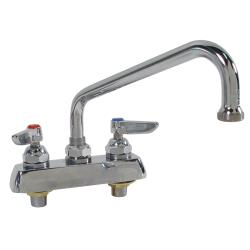 T&S Brass - B-1111 - 4 in Deck Mount Heavy Duty Faucet w/ 8 in Spout image