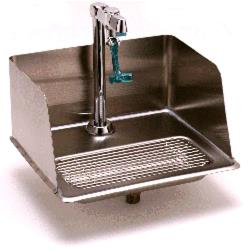 T&S Brass - B-1235 - Drop-In Water Station with Splash Guard image