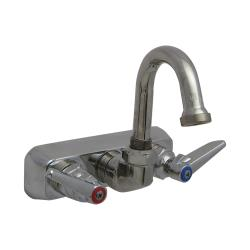 T&S Brass - B-1146-01 - 4 in Wall Mount Workboard Faucet image