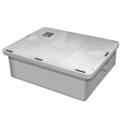 Canplas - 3925A02LO - Endura® Low Profile 25 GPM/50 Lb Grease Trap image