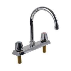 Encore - TLL11-8002RE1 - 8 in Deck Mount Faucet w/ Rigid Gooseneck Spout image