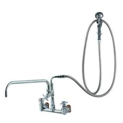 T&S Brass - B-0289 - 8 in Wall Mount Big-Flo Pre-Rinse with Faucet image