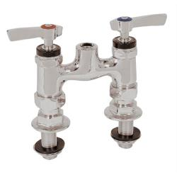 Encore Plumbing - KL56-Y003-01 - Deck Mount Pre-Rinse Faucet Base with 4 in Centers image