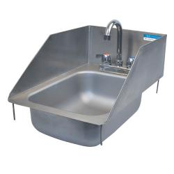 BK Resources - BK-DIS-1014-5-SS - 10 in x 14 in x 5 in One Compartment Sink image