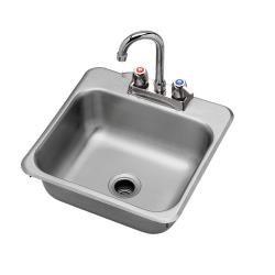 Krowne - HS-151 - 15 in Drop-In Hand Sink with Faucet image