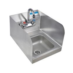 BK Resources - BKHS-W-SS-SS-P-G - Wall Mount Space Saver Hand Sink image