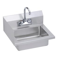 Elkay SSP - EHS-18-S-LX - 18 x 14 1/2 in Hand Sink With Left Side Splash image