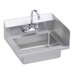 Elkay SSP - EHS-18-S-RX - 18 x 14 1/2 in Hand Sink With Right Side Splash image
