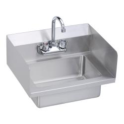 Elkay - EHS-18-SSX - 18 x 14 1/2 in Hand Sink With Left And Right Side  Splashes image