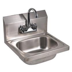 "GSW - HS-1615WG - 15 3/4"" Wall Mount Hand Sink w/ Faucet image"