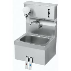 Krowne - HS-16 - Knee Valve Hand Sink With Soap & Towel Dispenser image