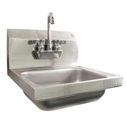 Krowne - HS-22 - 16 in Wall Mount Hand Sink With Faucet image