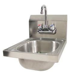 Krowne - HS-9L - 12 in Wall Mount Hand Sink With Faucet image