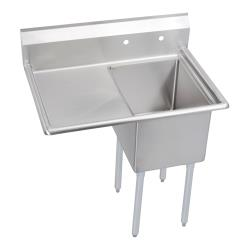 Elkay - 14-1C18X24-L-18X - 38 1/2 in One Compartment Sink w/ Left Drainboard image