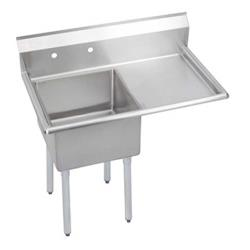 Elkay SSP - S1C18X18-R-18X - Super Economy 38 1/2 in One Compartment Sink With Right 18 in Drainboard image