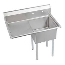 Elkay SSP - SE1C18X18-L-18X - 24 in One Compartment Sink With 18 in Left Drainboard image