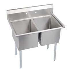 Elkay SSP - E2C24X24-0X - Economy 55 in Two Compartment Sink image