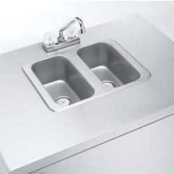 Crown Verity - CV-PHS-2C - 2 Comp Portable Hand Sink image