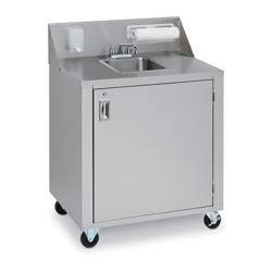 Crown Verity - CVPHS-1 - Portable 1-Compartment Hand Sink image