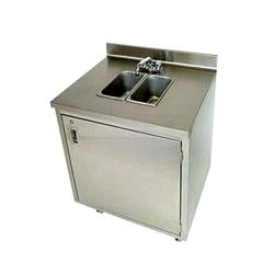 Crown Verity - CVPHS-2 - Portable 2-Compartment Hand Sink image