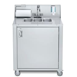 Crown Verity - CVPHS-3 - Portable 3-Compartment Hand Sink image